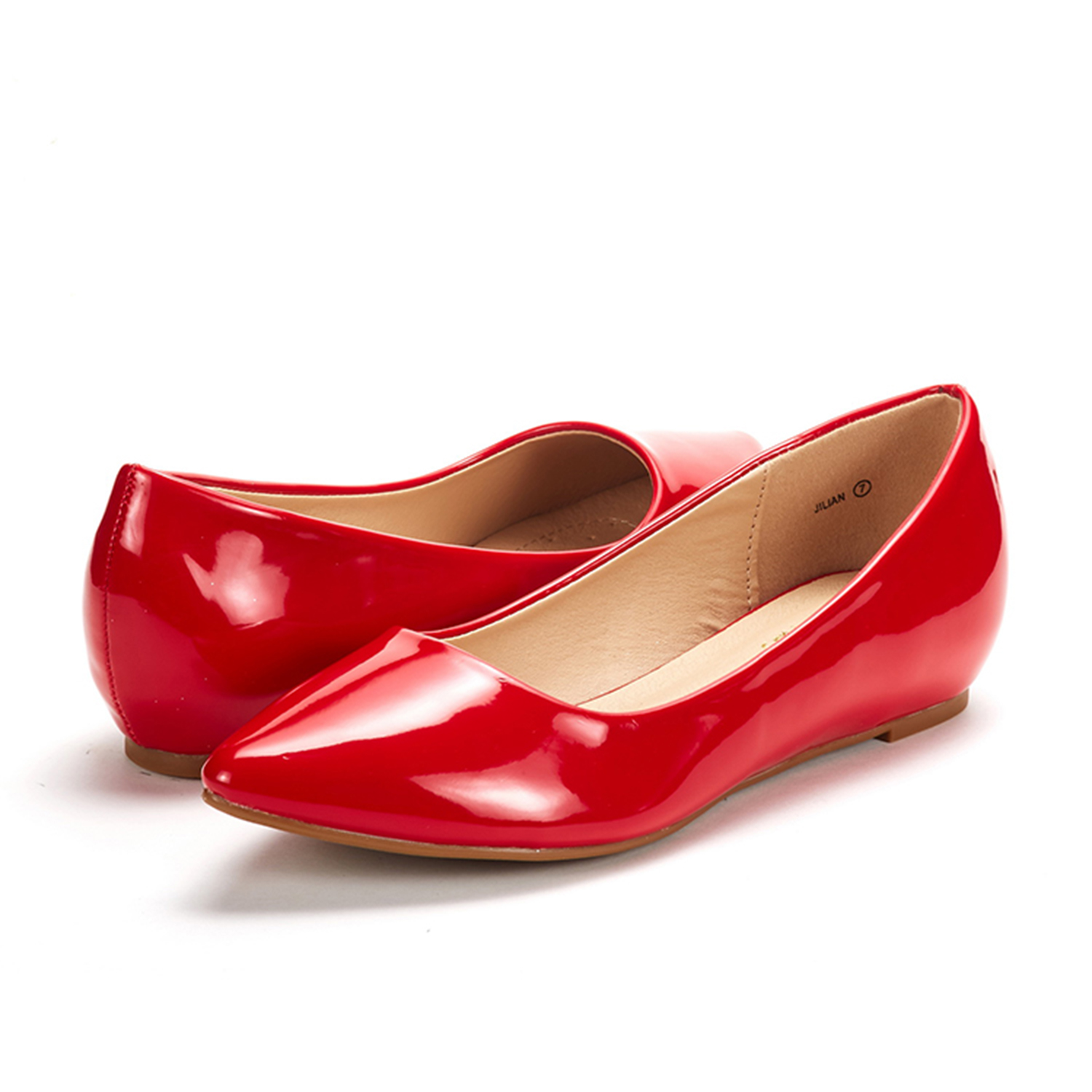 DREAM-PAIRS-Women-Low-Wedge-Flats-Ladies-Pointed-Toe-Slip-On-Comfort-Flat-Shoes thumbnail 35