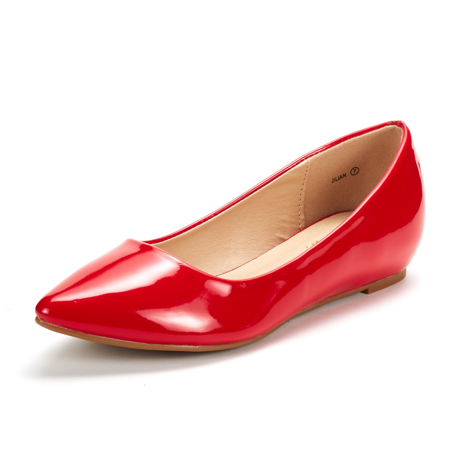 DREAM-PAIRS-Women-Low-Wedge-Flats-Ladies-Pointed-Toe-Slip-On-Comfort-Flat-Shoes thumbnail 38