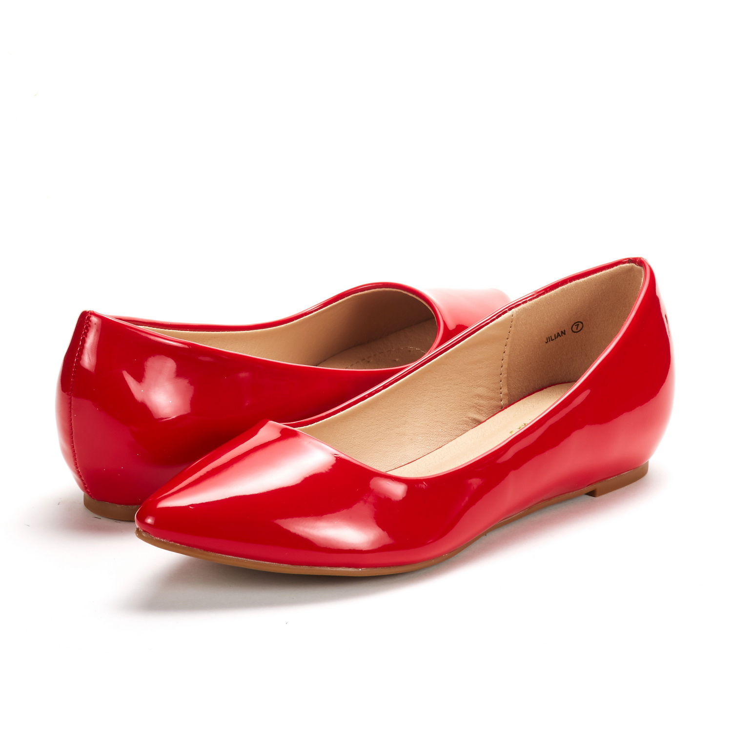 DREAM-PAIRS-Women-Low-Wedge-Flats-Ladies-Pointed-Toe-Slip-On-Comfort-Flat-Shoes thumbnail 39