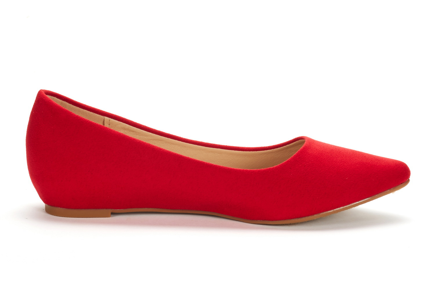 DREAM-PAIRS-Women-Low-Wedge-Flats-Ladies-Pointed-Toe-Slip-On-Comfort-Flat-Shoes thumbnail 8