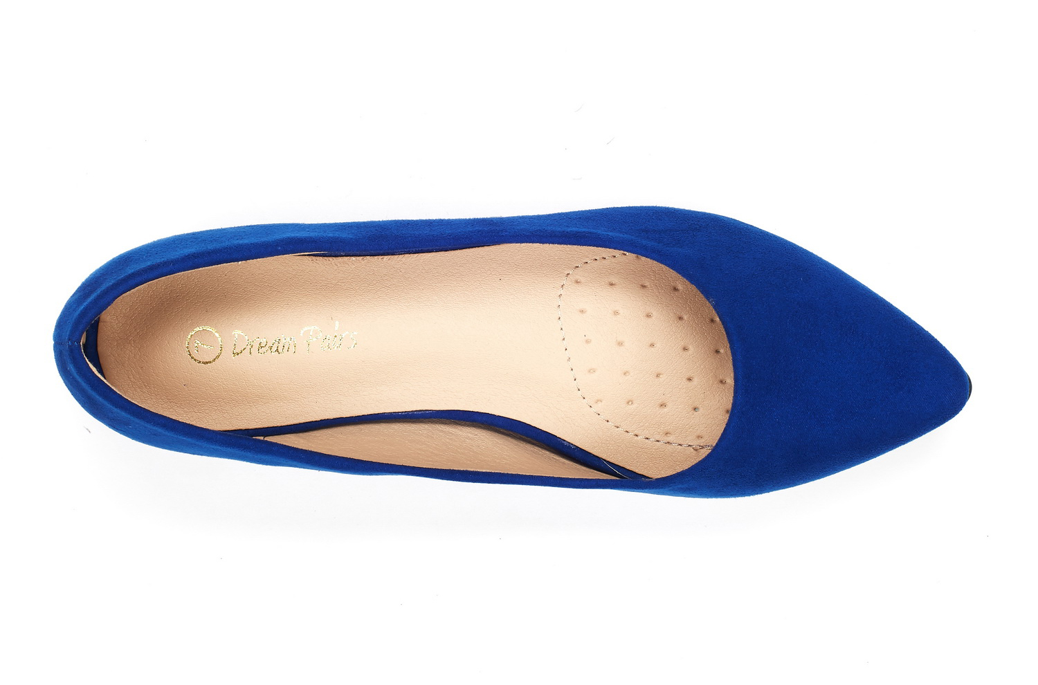 DREAM-PAIRS-Women-Low-Wedge-Flats-Ladies-Pointed-Toe-Slip-On-Comfort-Flat-Shoes thumbnail 17
