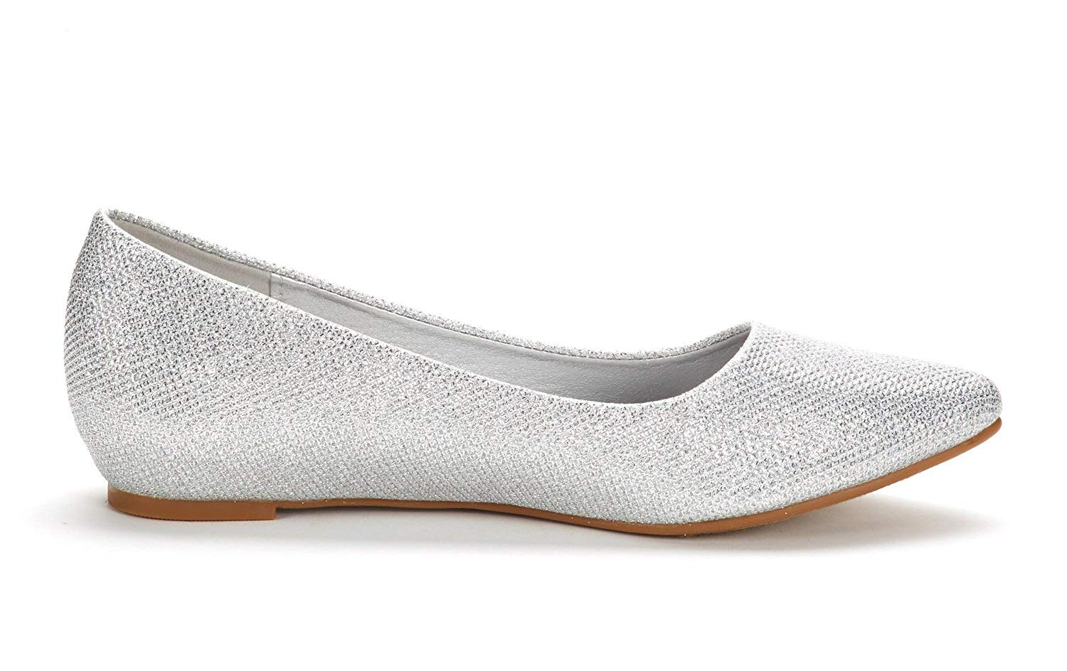DREAM-PAIRS-Women-Low-Wedge-Flats-Ladies-Pointed-Toe-Slip-On-Comfort-Flat-Shoes thumbnail 20