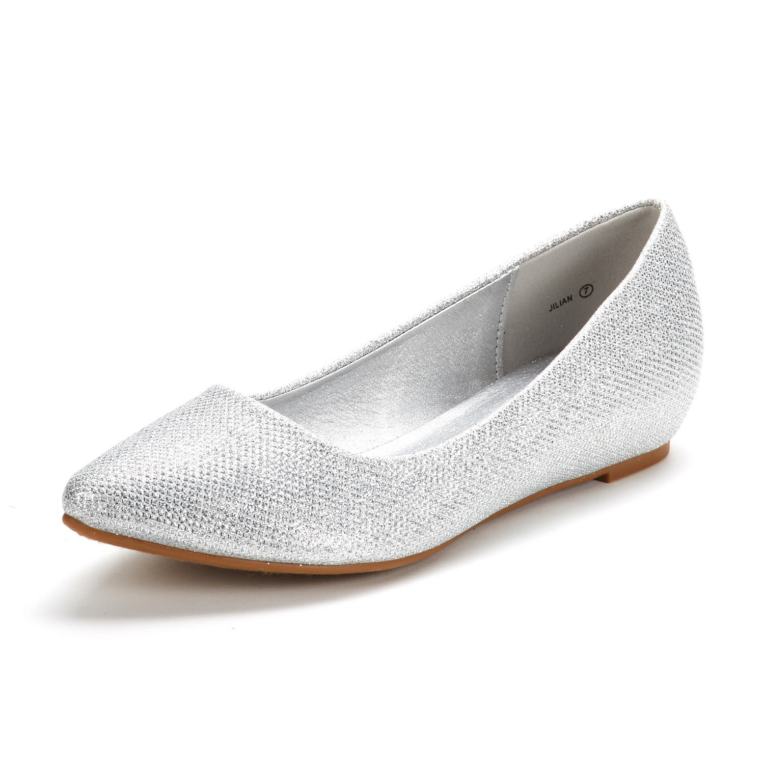 DREAM-PAIRS-Women-Low-Wedge-Flats-Ladies-Pointed-Toe-Slip-On-Comfort-Flat-Shoes thumbnail 22