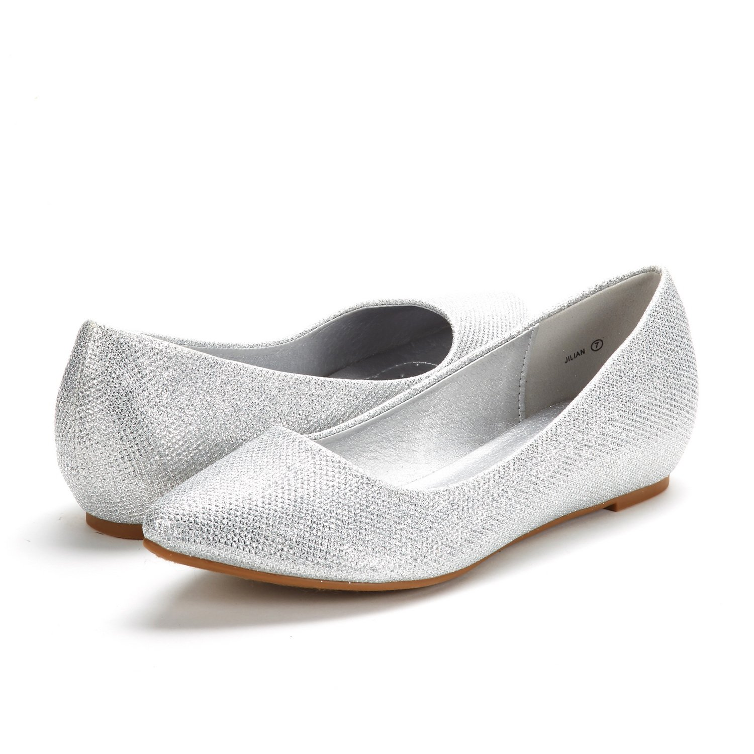 DREAM-PAIRS-Women-Low-Wedge-Flats-Ladies-Pointed-Toe-Slip-On-Comfort-Flat-Shoes thumbnail 19