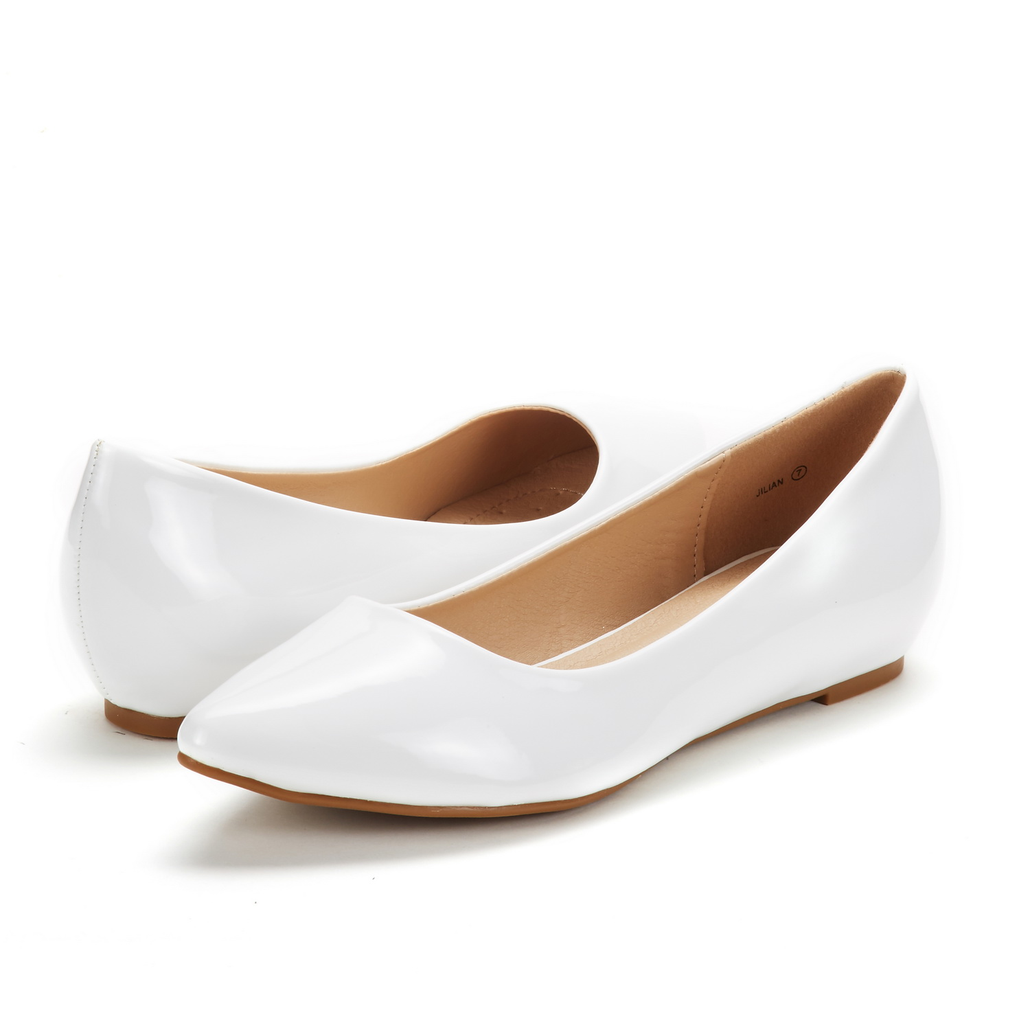 DREAM-PAIRS-Women-Low-Wedge-Flats-Ladies-Pointed-Toe-Slip-On-Comfort-Flat-Shoes thumbnail 84