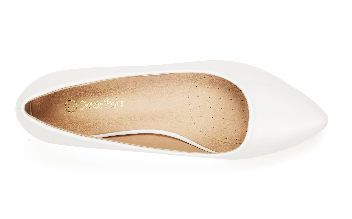 DREAM-PAIRS-Women-Low-Wedge-Flats-Ladies-Pointed-Toe-Slip-On-Comfort-Flat-Shoes thumbnail 83