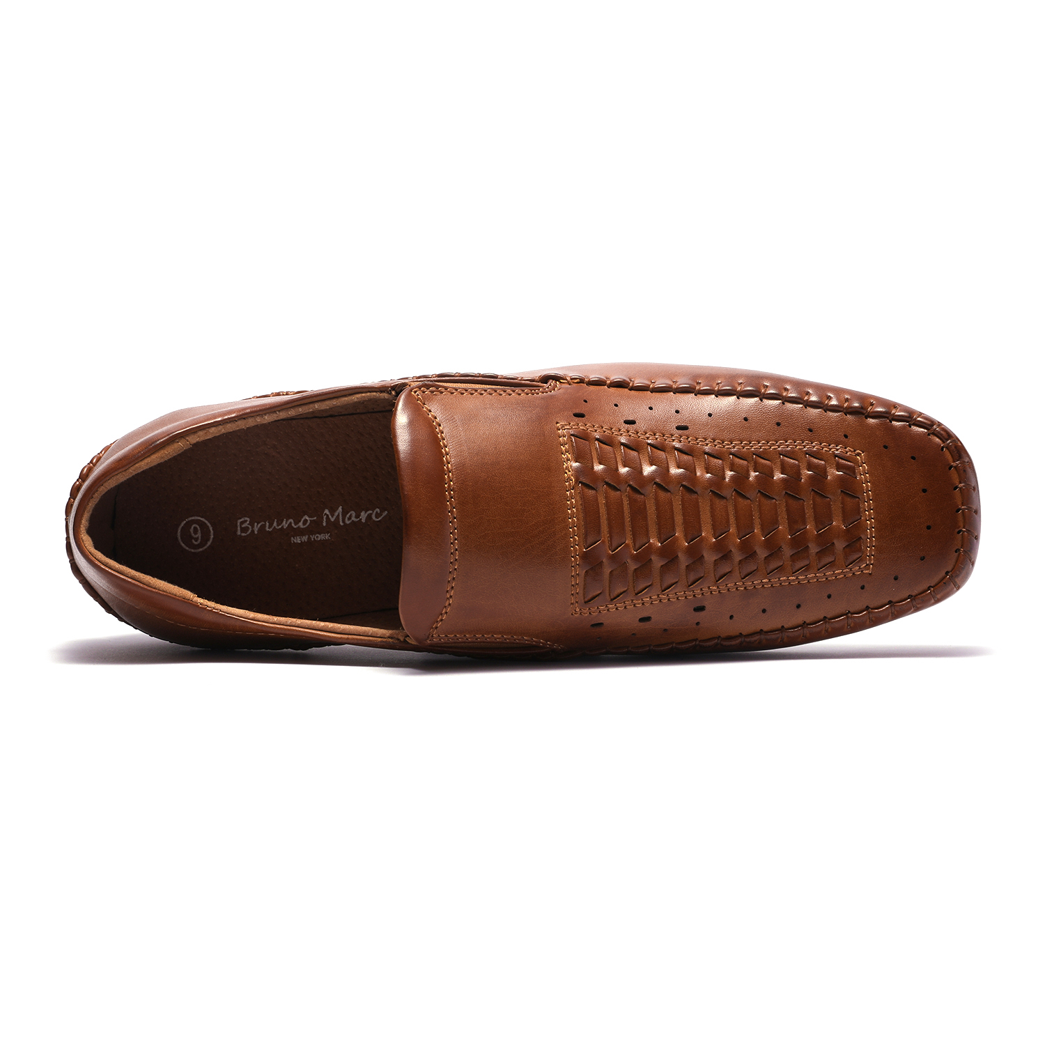 Bruno-Marc-Mens-Penny-Light-Loafers-Moccasins-Driving-Flats-Slip-On-Casual-Shoes thumbnail 23