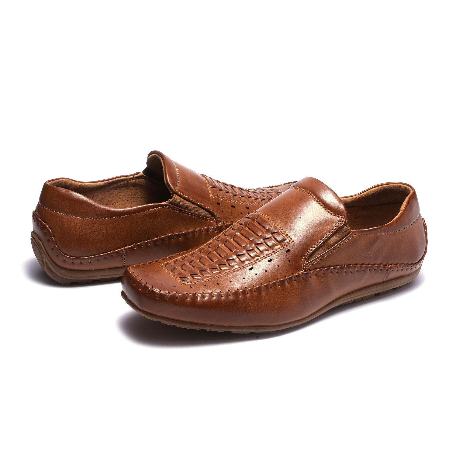 Bruno-Marc-Mens-Penny-Light-Loafers-Moccasins-Driving-Flats-Slip-On-Casual-Shoes thumbnail 24
