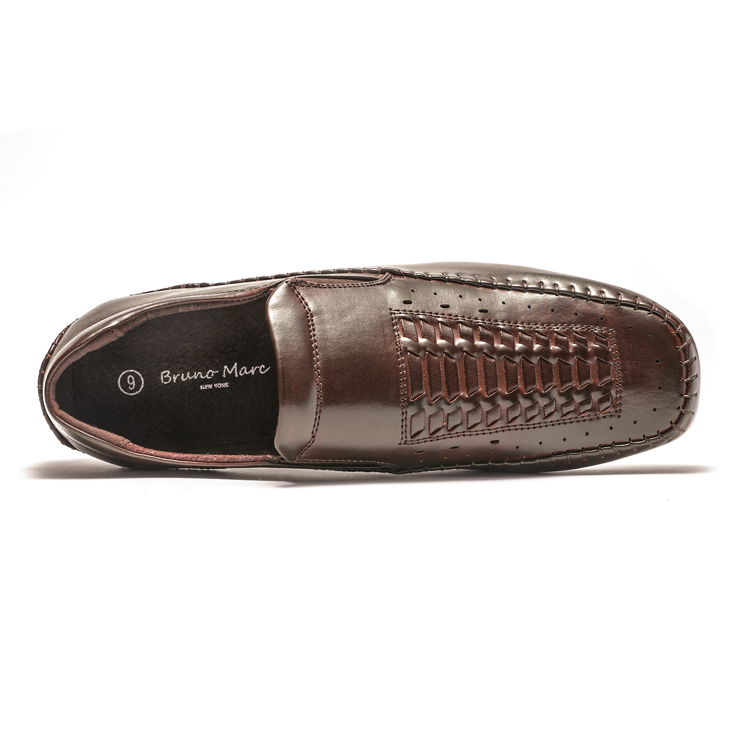 Bruno-Marc-Mens-Penny-Light-Loafers-Moccasins-Driving-Flats-Slip-On-Casual-Shoes thumbnail 31