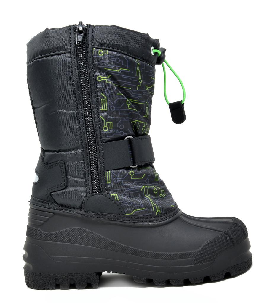 32cf90b763d Details about DREAM PAIRS Boys Girls Toddler Kids KAMICK Mid Calf  Waterproof Winter Snow Boots