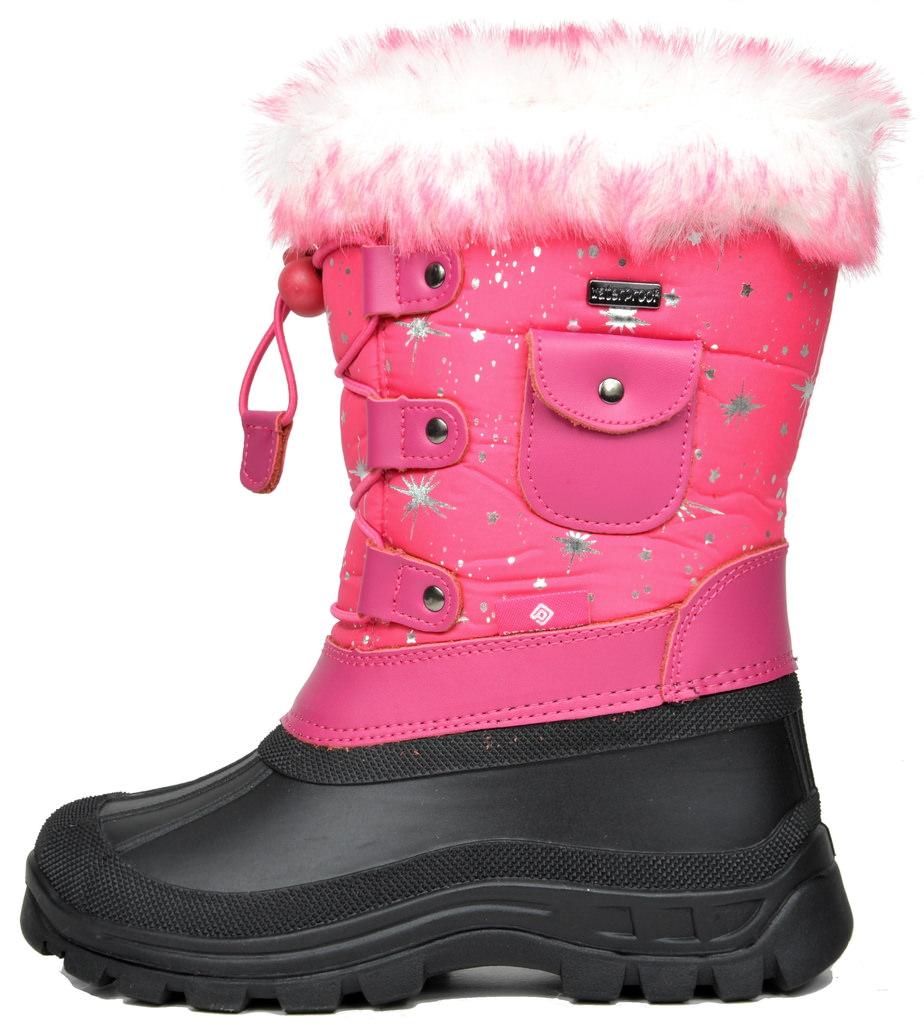 0ab7b016d212 DREAM PAIRS Boys   Girls KSNOW Insulated Waterproof Snow Boots