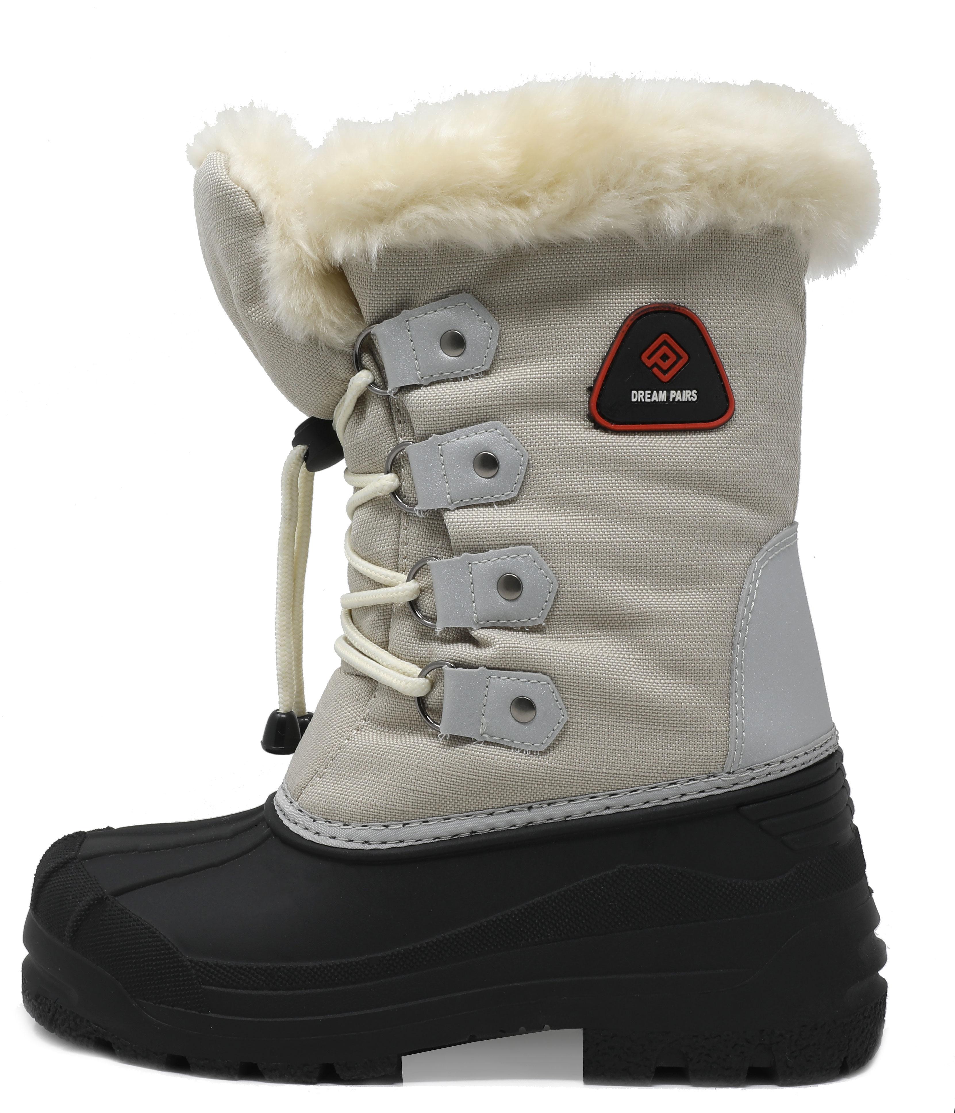 1cc495d37ece DREAM PAIRS Boys   Girls Toddler  Kid Insulated Fur Winter ...
