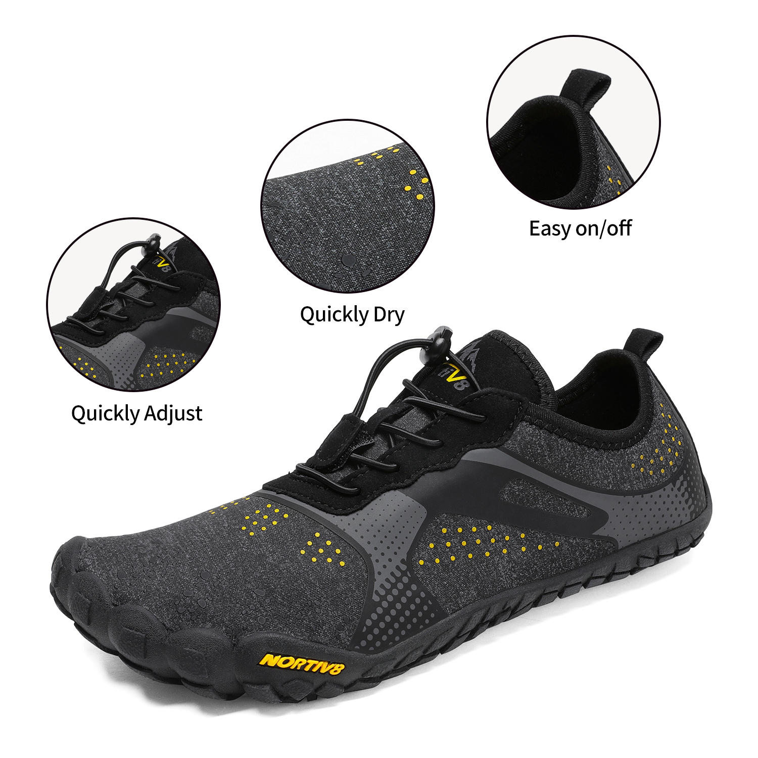 Mens Barefoot Water Shoes Sports Shoes