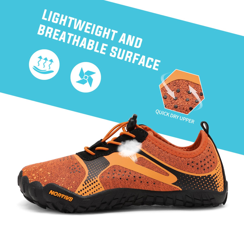 NORTIV 8 Kids Water Shoes Boys Girls Outdoor Athletic Lightweight Sports Shoes  Outdoor Water Shoes
