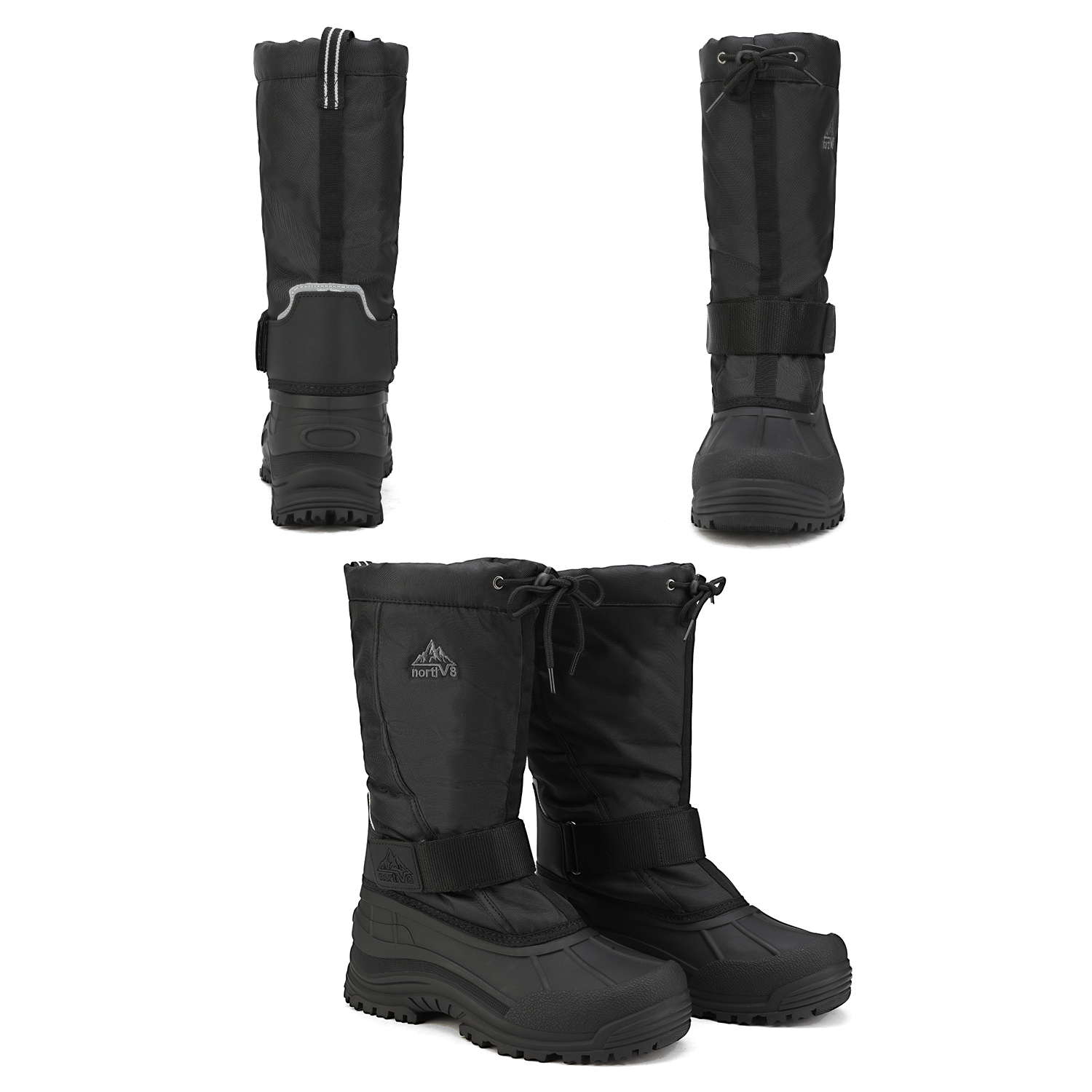 NORTIV-8-Men-039-s-Winter-Snow-Boots-Waterproof-Warm-Thermolite-Outdoor-Hiking-Boots thumbnail 10