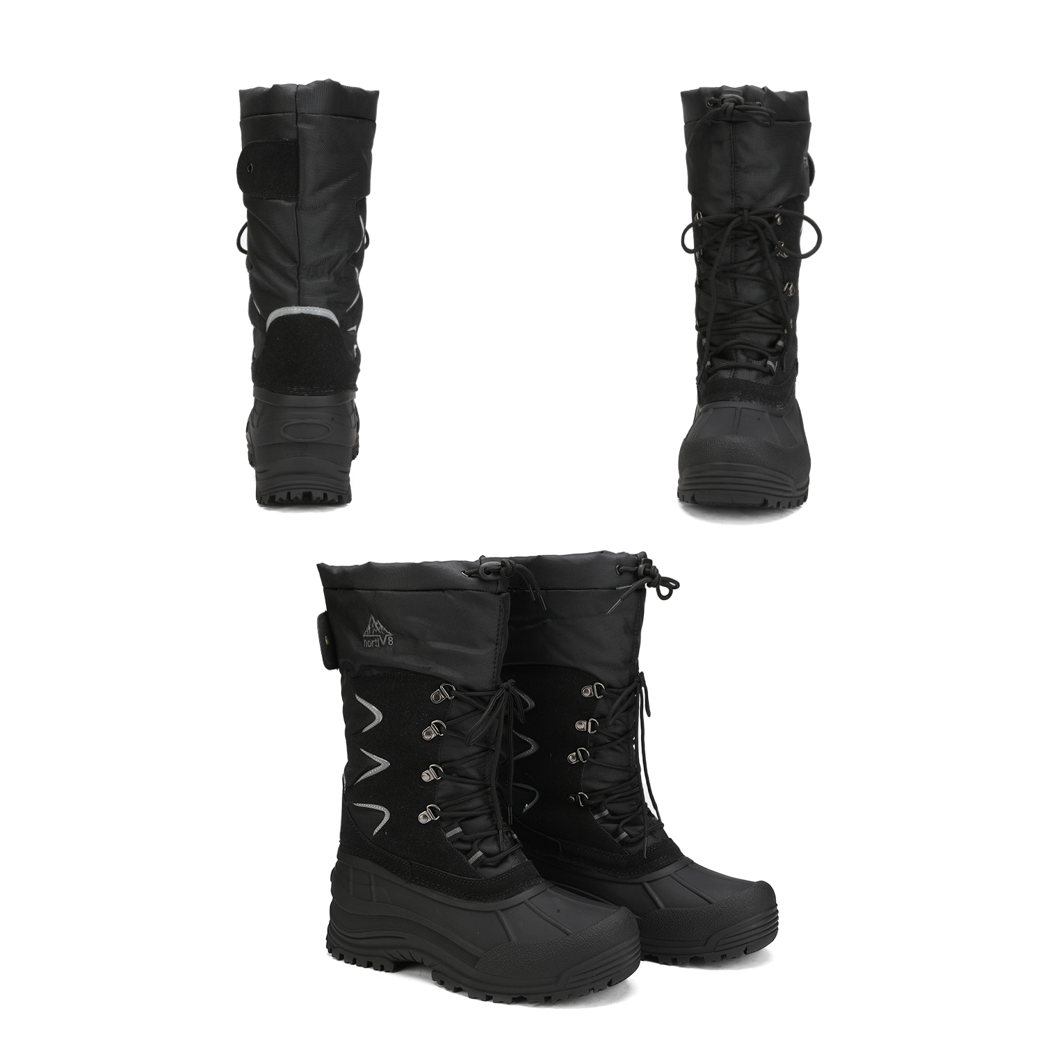 NORTIV-8-Men-039-s-Winter-Snow-Boots-Waterproof-Warm-Thermolite-Outdoor-Hiking-Boots thumbnail 16