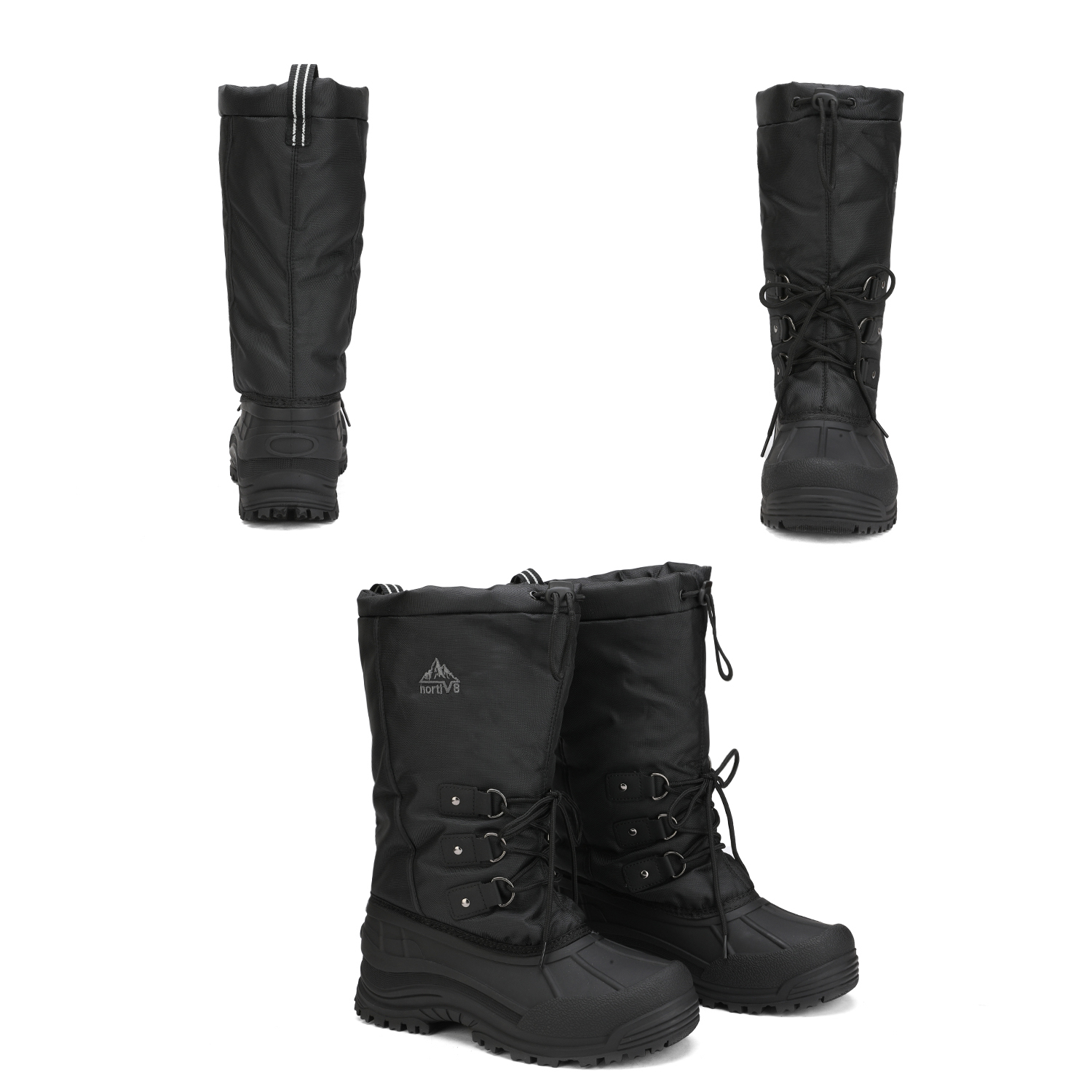 NORTIV-8-Men-039-s-Winter-Snow-Boots-Waterproof-Warm-Thermolite-Outdoor-Hiking-Boots thumbnail 22