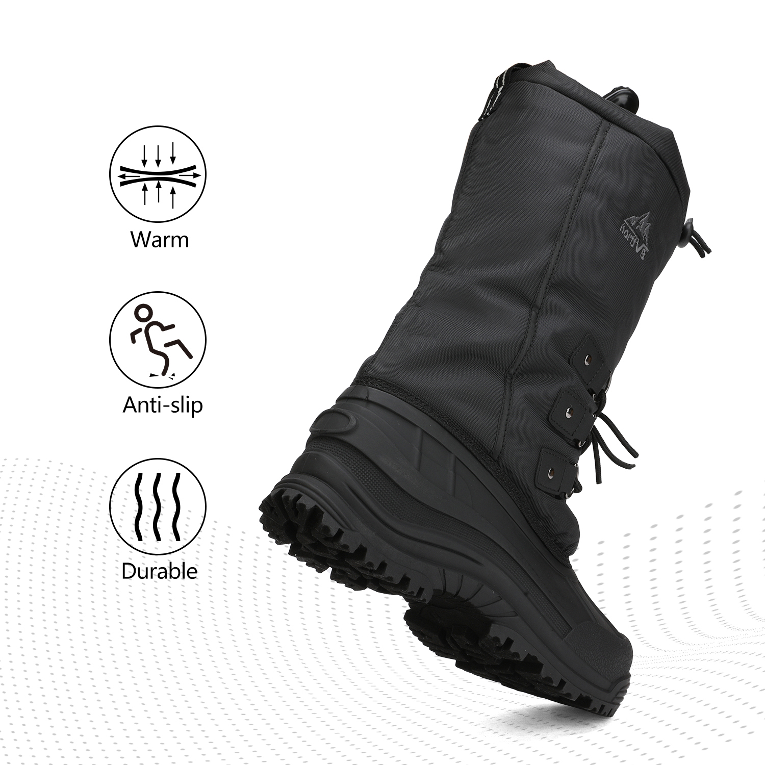 NORTIV-8-Men-039-s-Winter-Snow-Boots-Waterproof-Warm-Thermolite-Outdoor-Hiking-Boots thumbnail 21