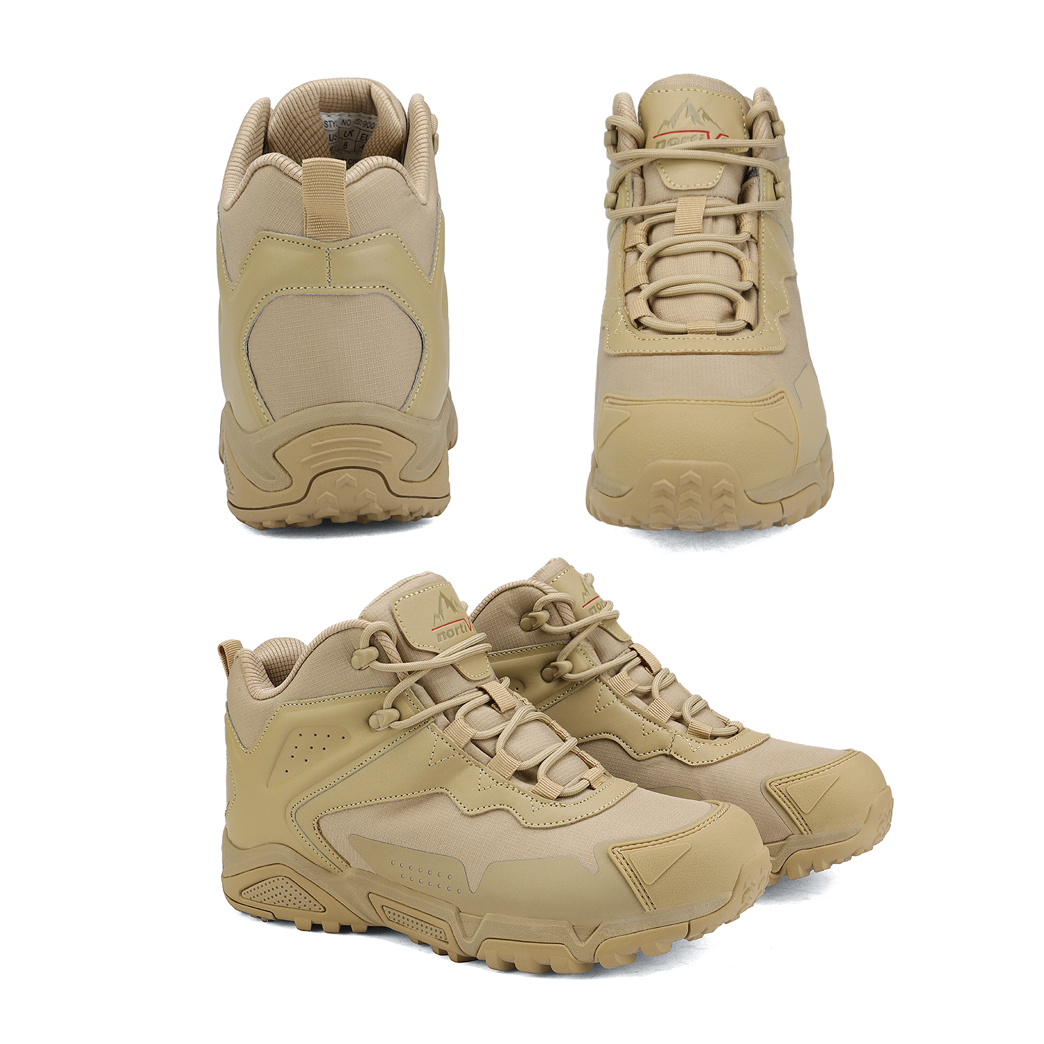 NORTIV-8-Men-039-s-Ankle-Waterproof-Hiking-Boots-Lightweight-Backpacking-Work-Shoes thumbnail 8