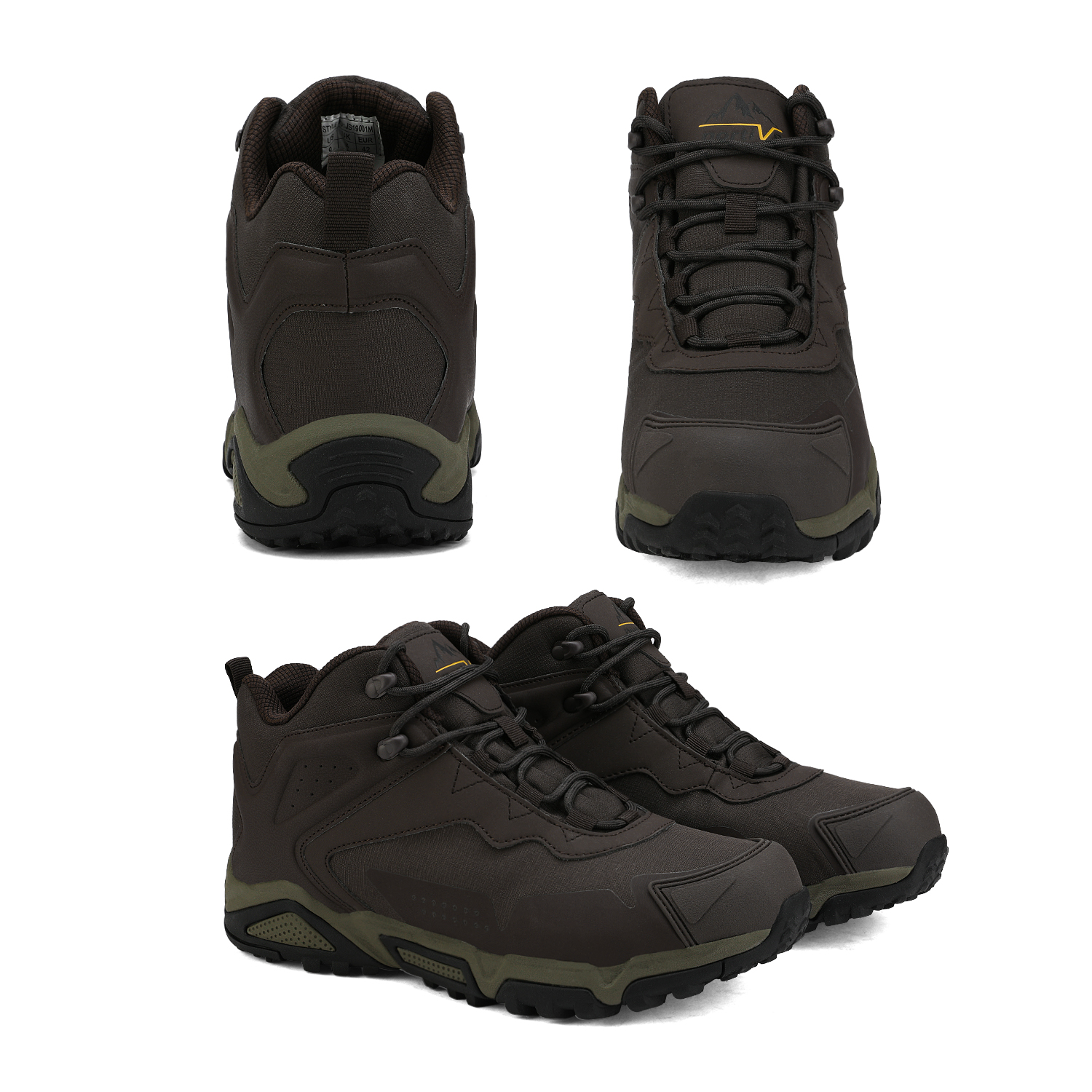 NORTIV-8-Men-039-s-Ankle-Waterproof-Hiking-Boots-Lightweight-Backpacking-Work-Shoes thumbnail 14