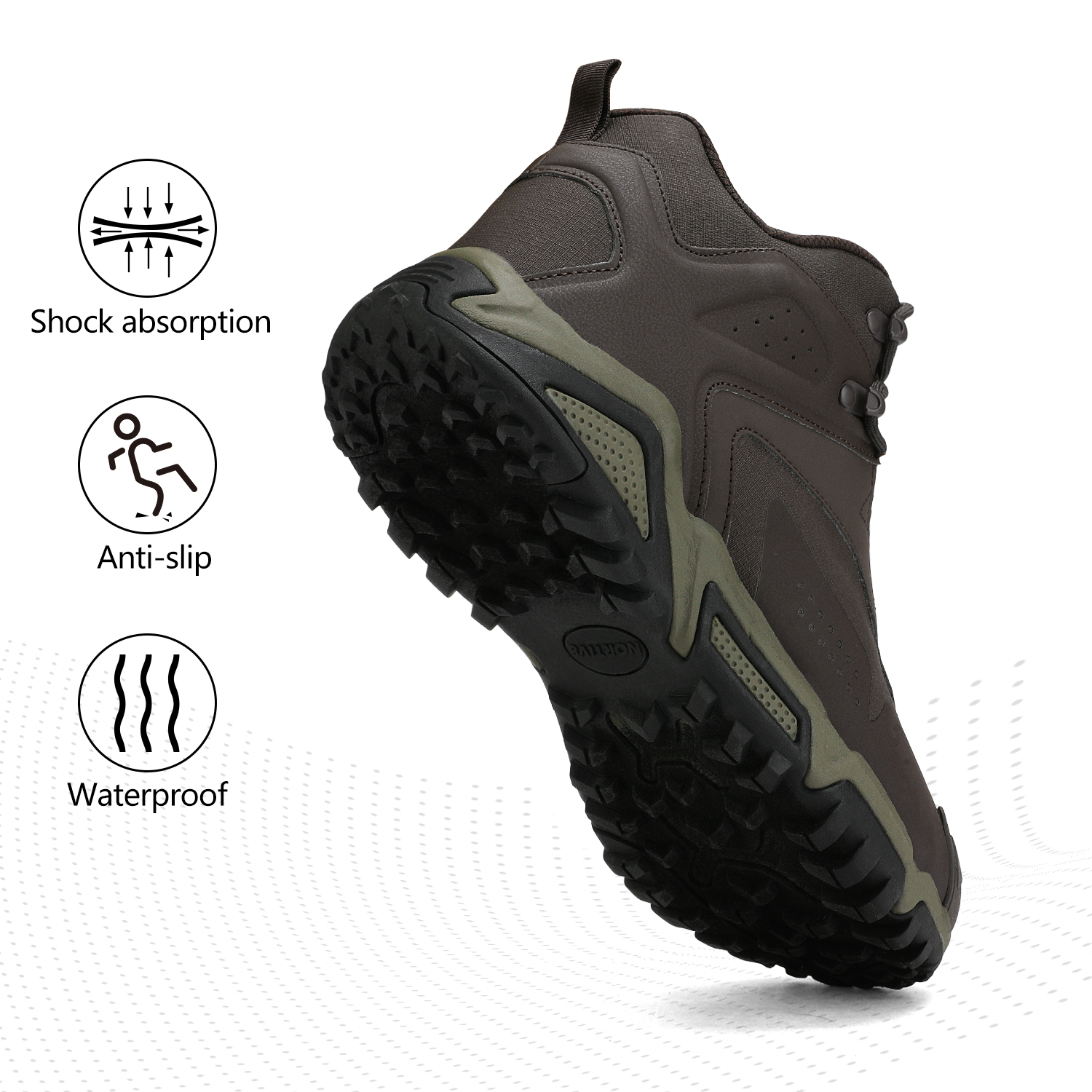 NORTIV-8-Men-039-s-Ankle-Waterproof-Hiking-Boots-Lightweight-Backpacking-Work-Shoes thumbnail 13
