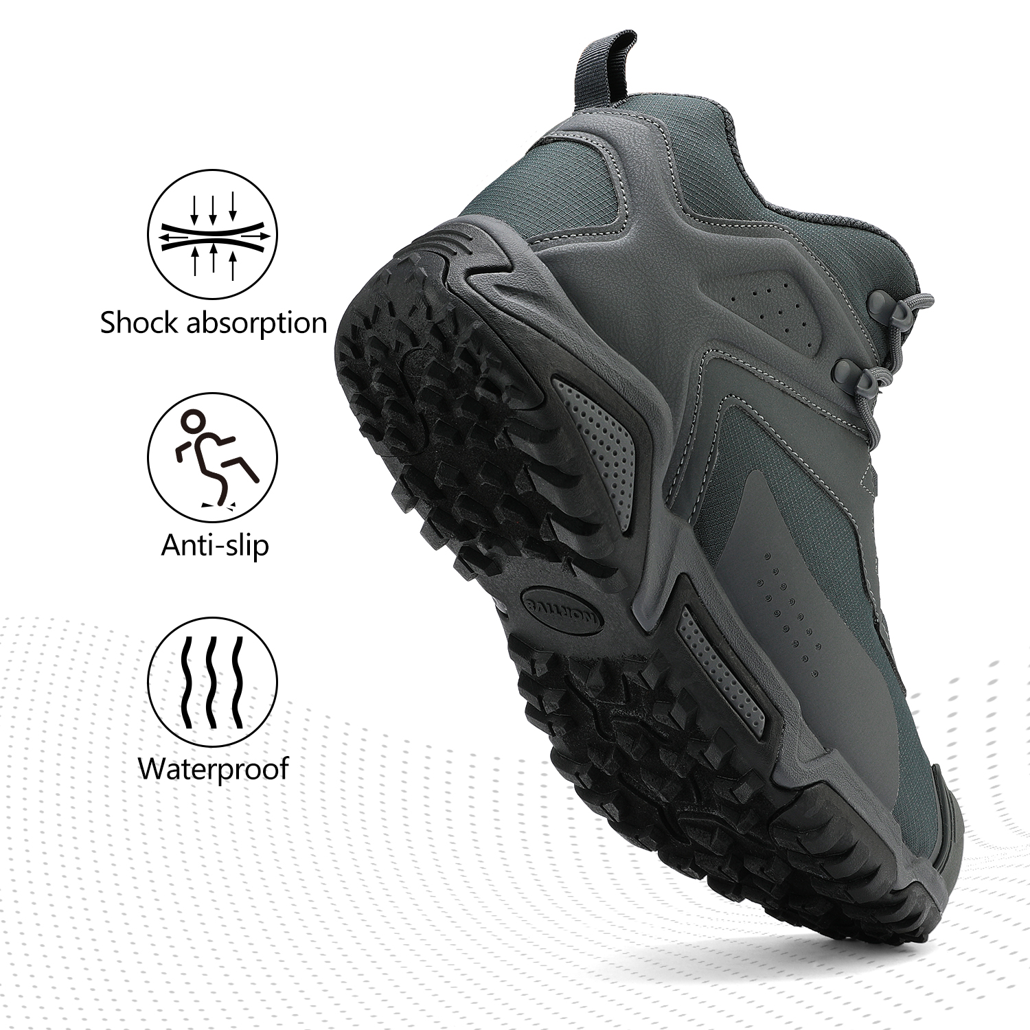 NORTIV-8-Men-039-s-Ankle-Waterproof-Hiking-Boots-Lightweight-Backpacking-Work-Shoes thumbnail 19