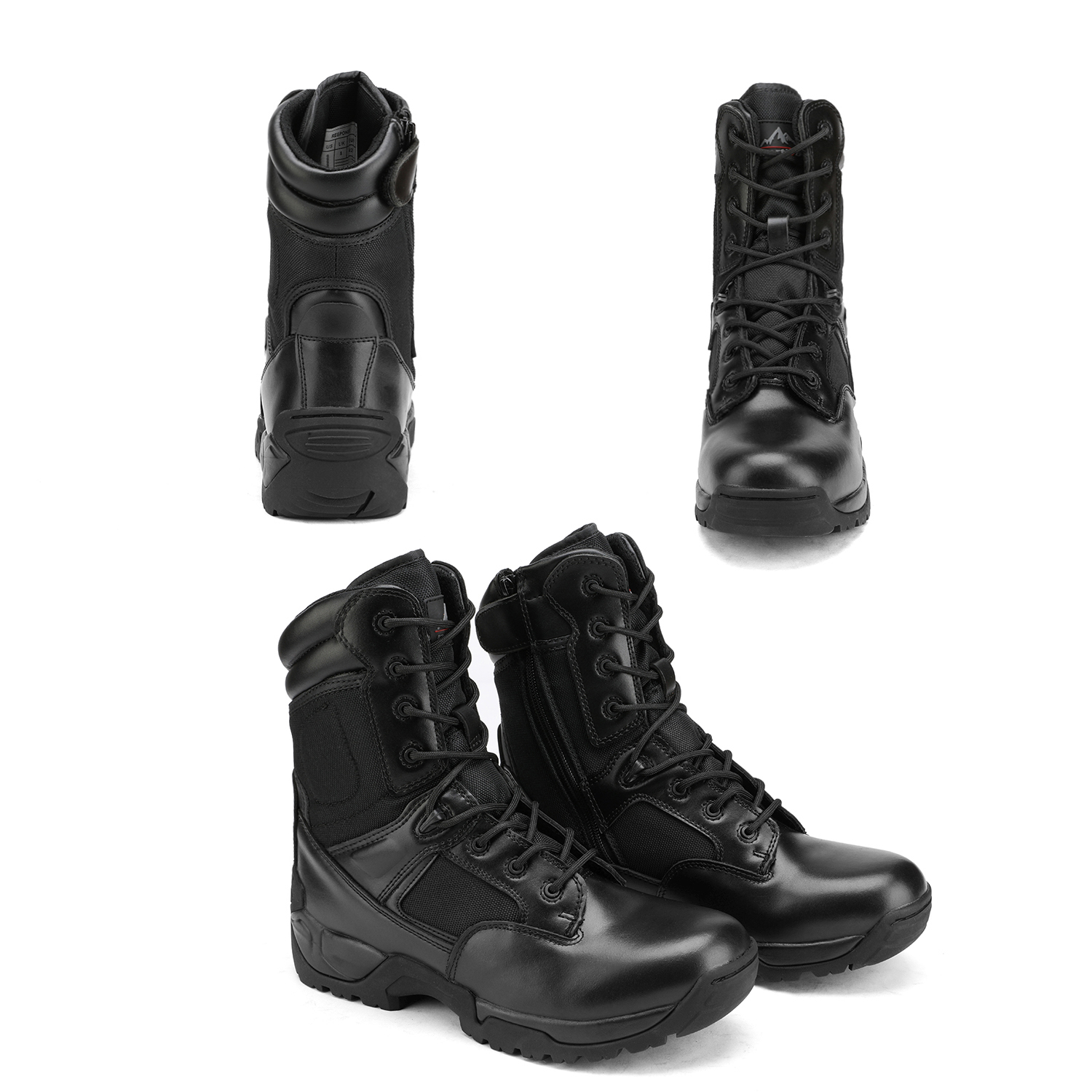 Men-039-s-Military-Tactical-Work-Boots-Hiking-Motorcycle-Combat-Bootie-New thumbnail 10