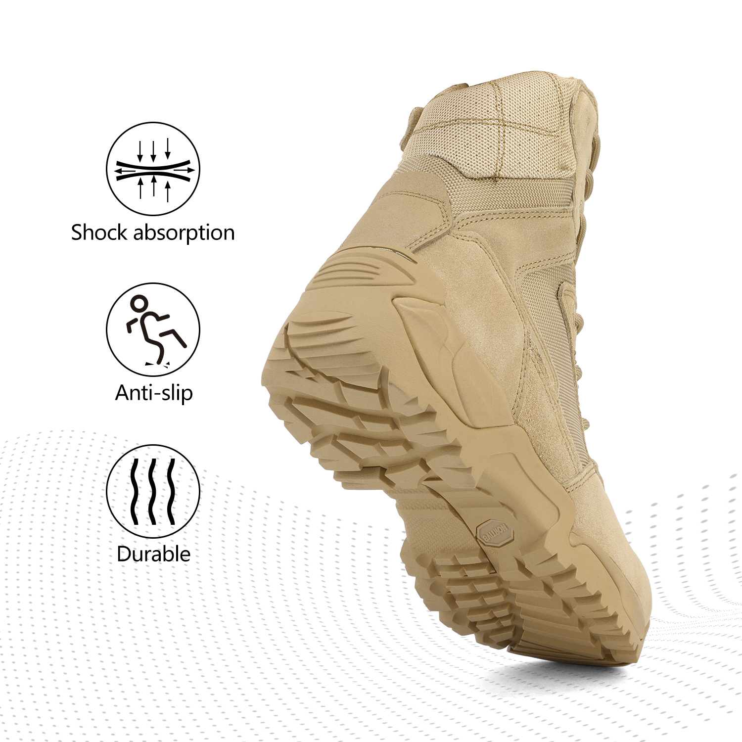Men-039-s-Military-Tactical-Work-Boots-Hiking-Motorcycle-Combat-Bootie-New thumbnail 27