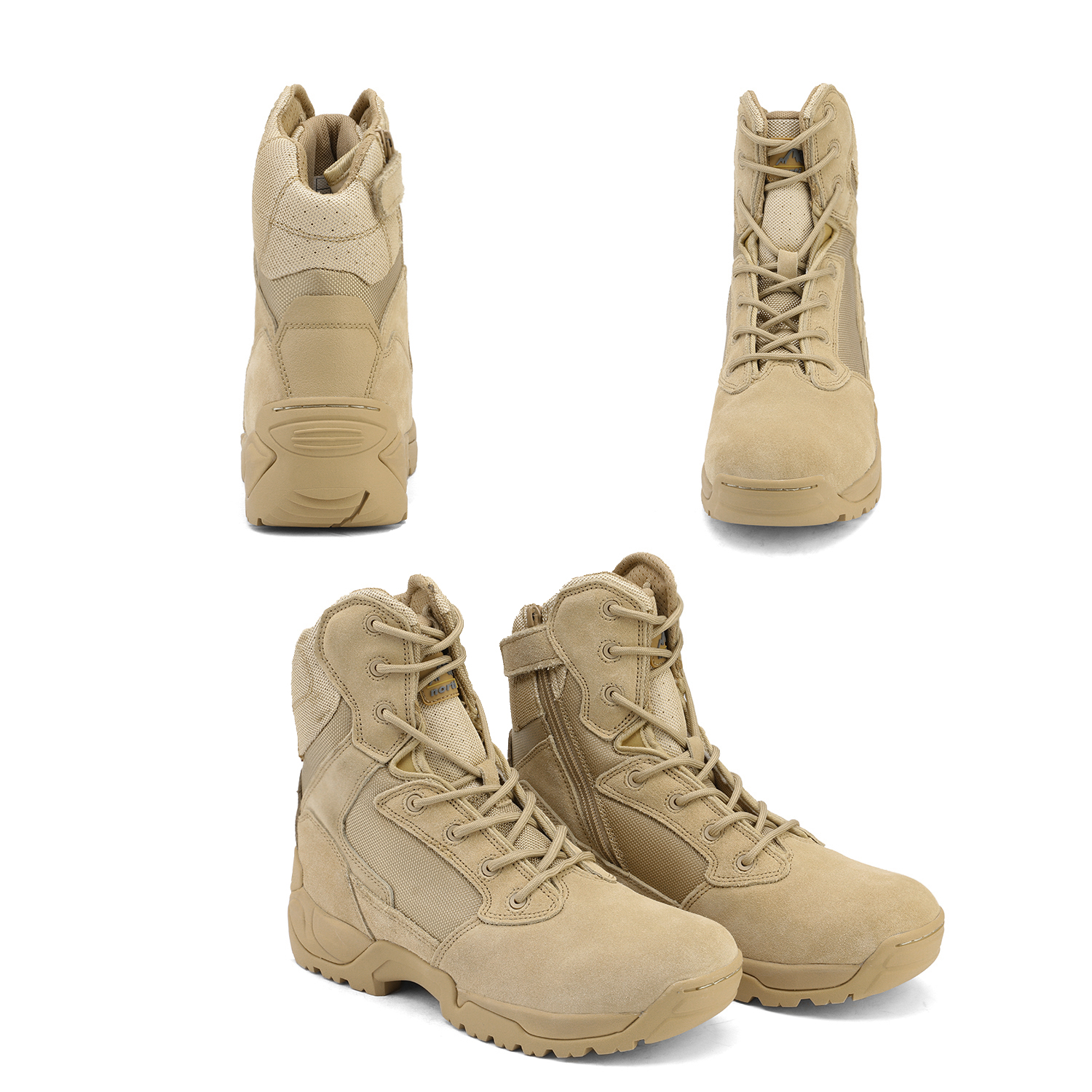 Men-039-s-Military-Tactical-Work-Boots-Hiking-Motorcycle-Combat-Bootie-New thumbnail 28