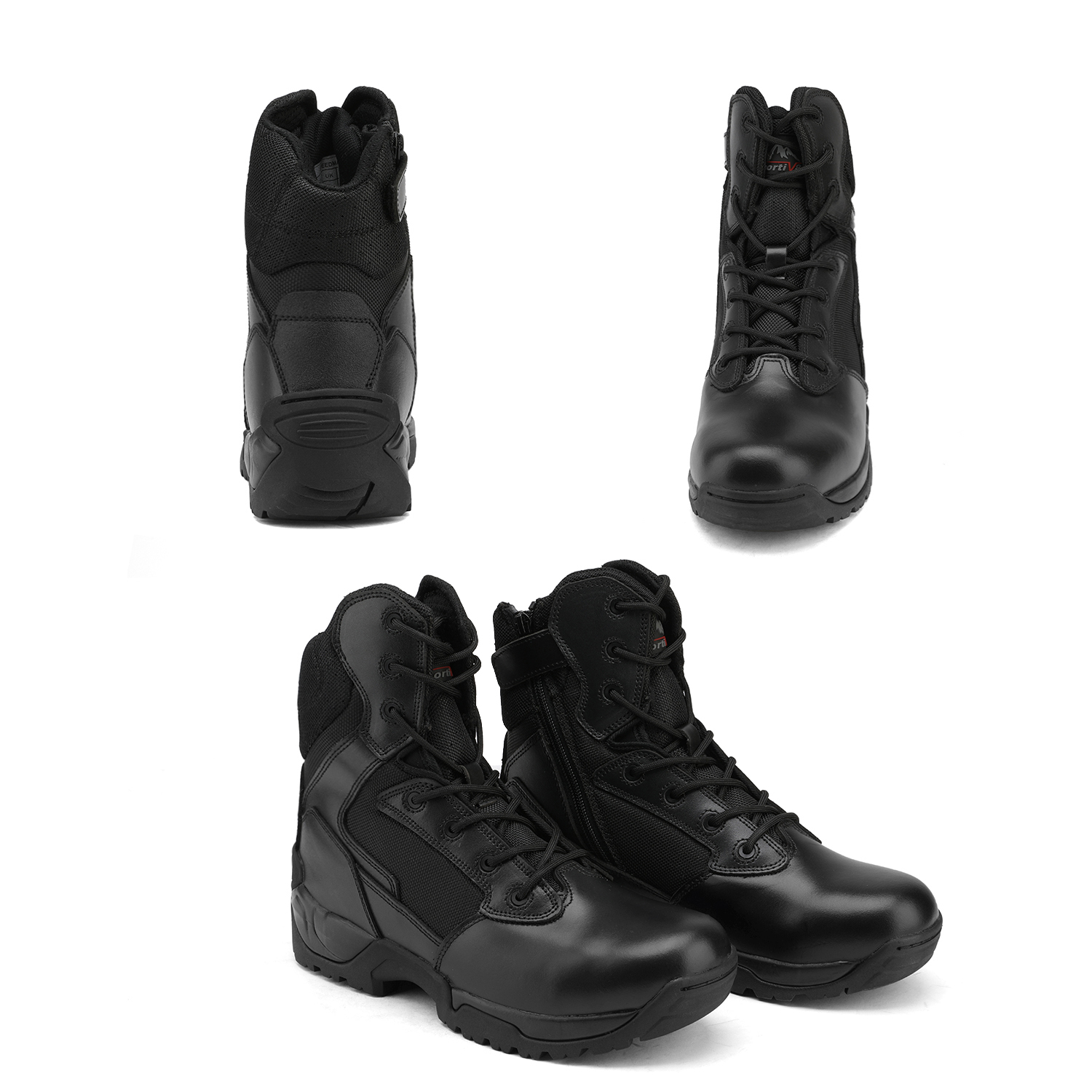 Men-039-s-Military-Tactical-Work-Boots-Hiking-Motorcycle-Combat-Bootie-New thumbnail 22