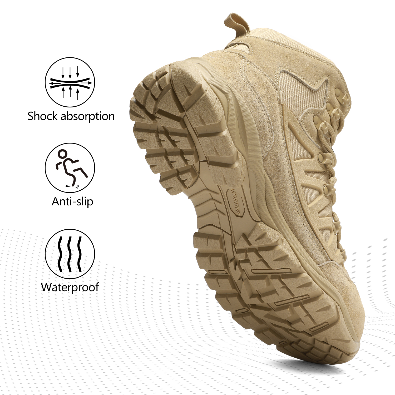 NORTIV-8-Men-039-s-Ankle-Waterproof-Hiking-Boots-Lightweight-Backpacking-Work-Shoes thumbnail 44