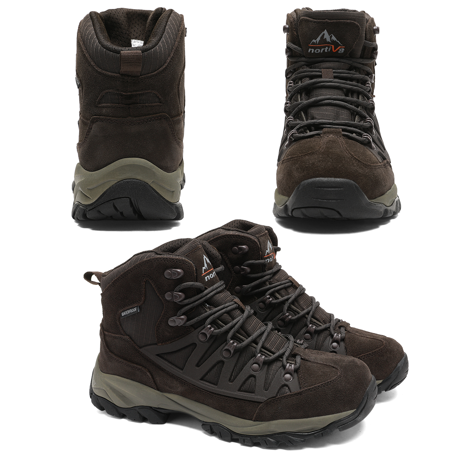 NORTIV-8-Men-039-s-Ankle-Waterproof-Hiking-Boots-Lightweight-Backpacking-Work-Shoes thumbnail 39