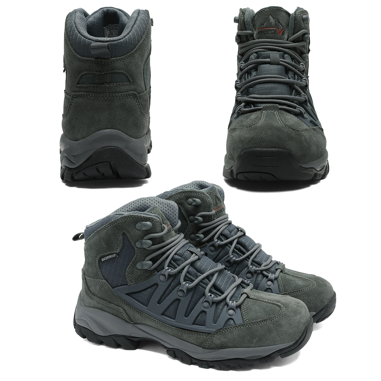 NORTIV-8-Men-039-s-Ankle-Waterproof-Hiking-Boots-Lightweight-Backpacking-Work-Shoes thumbnail 51