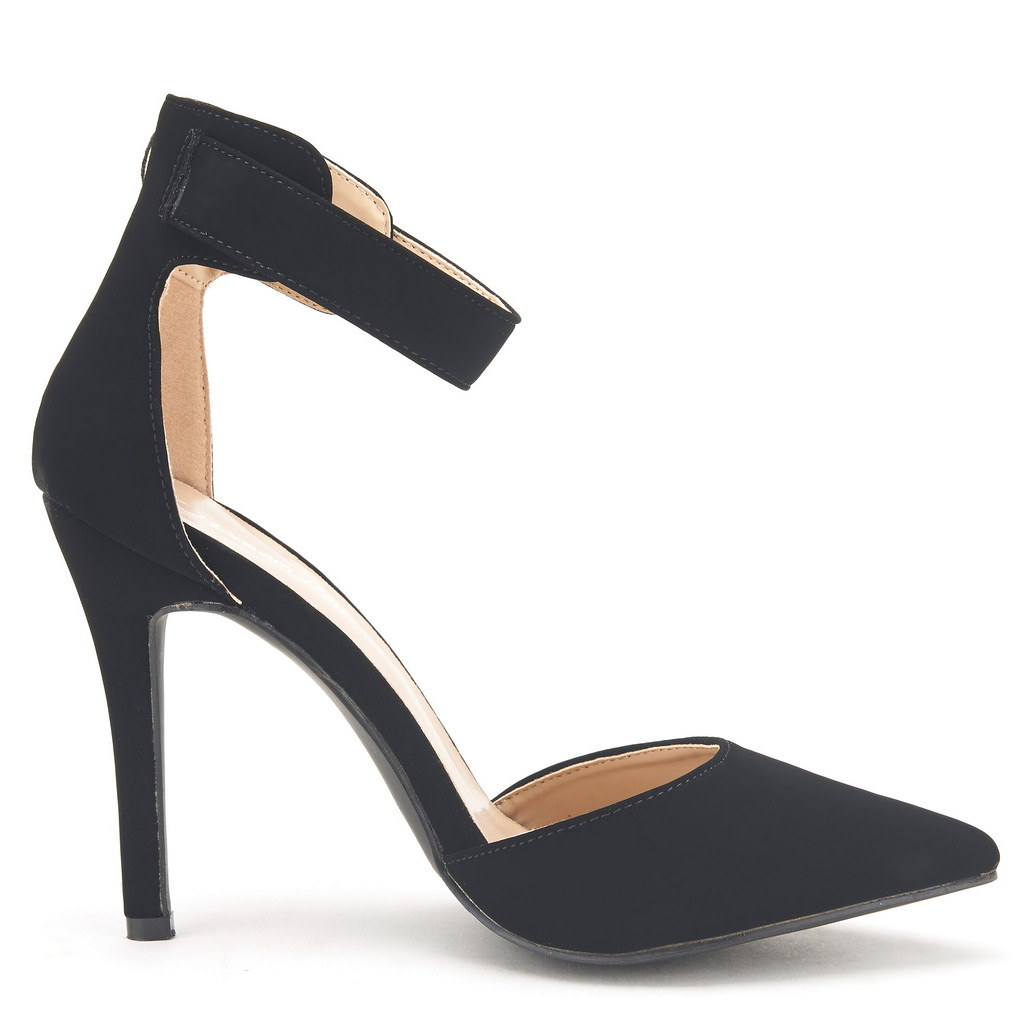 DREAM-PAIRS-Women-039-s-Suede-Pointy-Toe-Ankle-Strap-High-Heel-Dress-Pump-Shoes-5-11 thumbnail 9