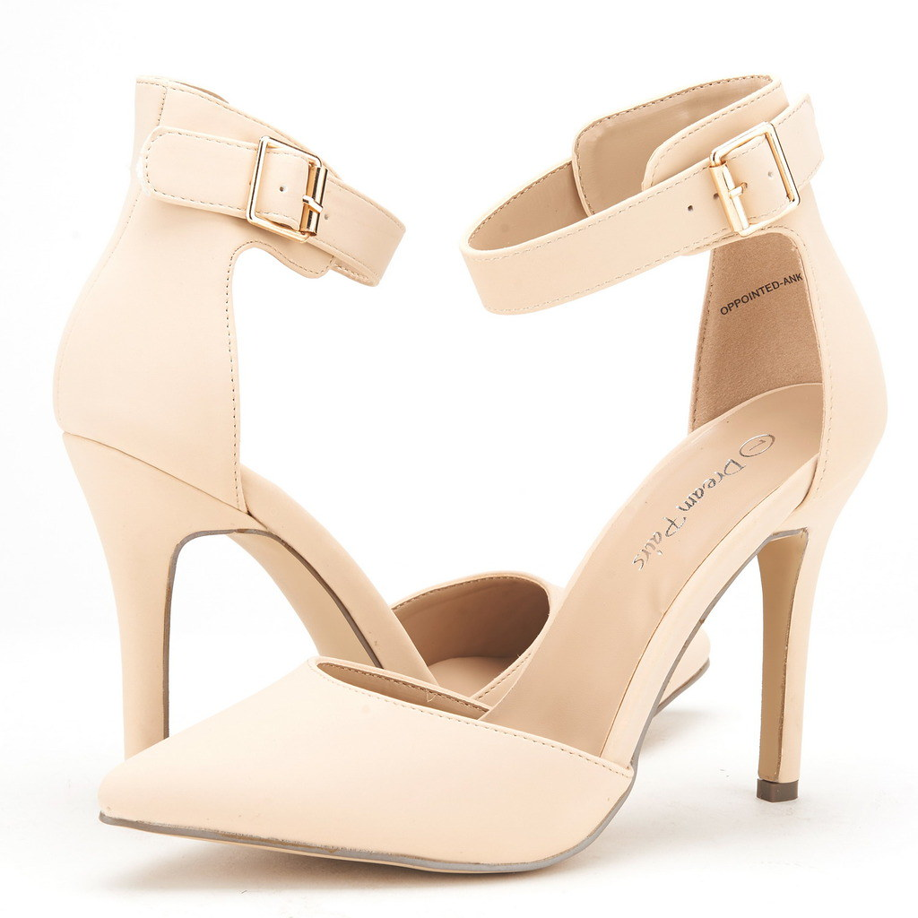 DREAM-PAIRS-Women-039-s-Suede-Pointy-Toe-Ankle-Strap-High-Heel-Dress-Pump-Shoes-5-11 thumbnail 12