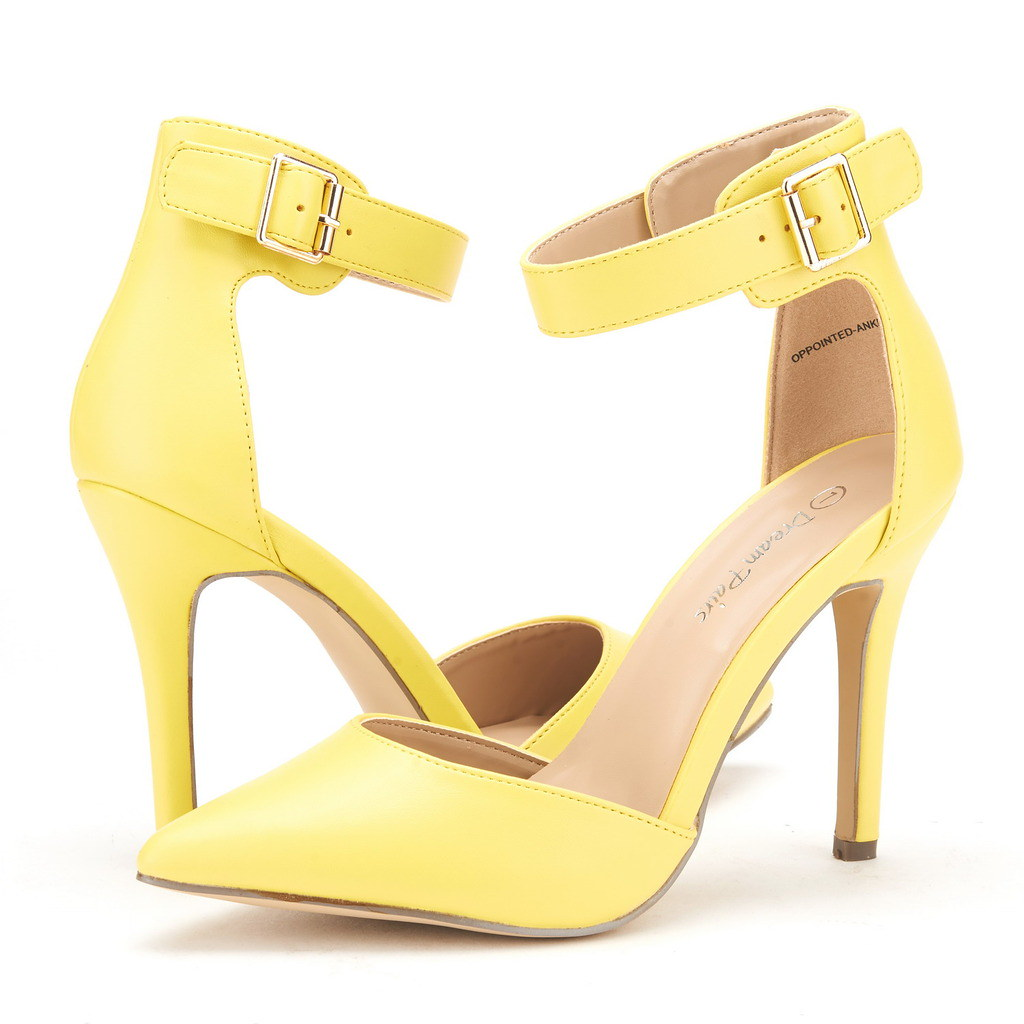DREAM-PAIRS-Women-039-s-Suede-Pointy-Toe-Ankle-Strap-High-Heel-Dress-Pump-Shoes-5-11 thumbnail 18