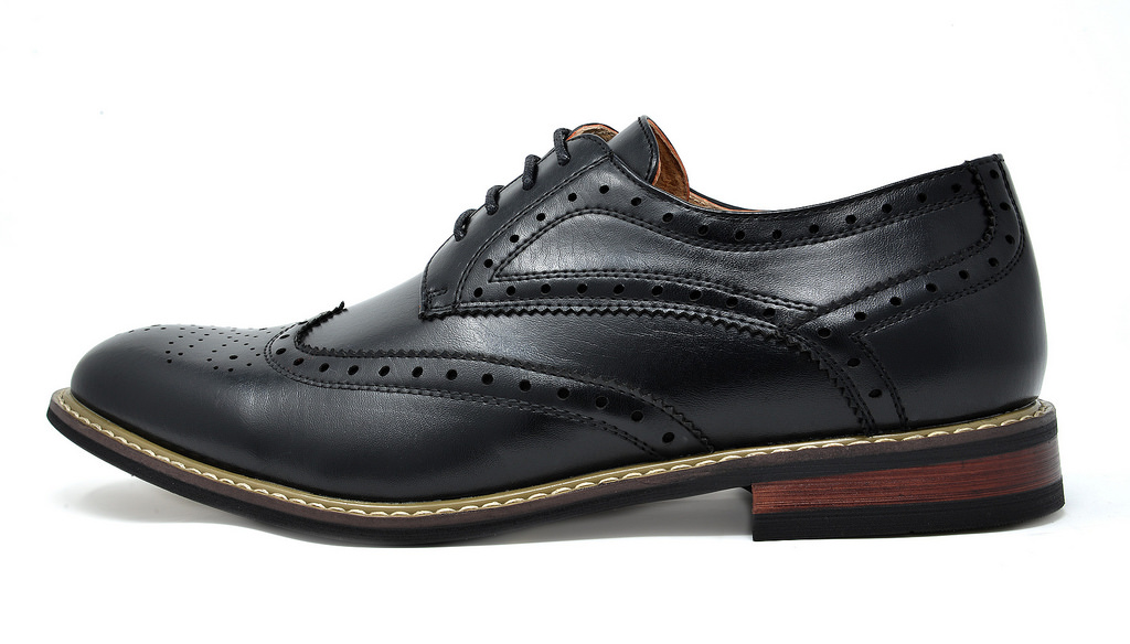 Bruno-Marc-Mens-Classic-Formal-Modern-Wingtip-Lace-Up-Dress-Oxfords-Shoes-6-5-15 thumbnail 8