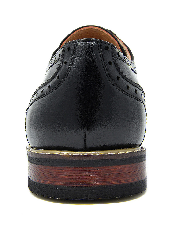 Bruno-Marc-Mens-Classic-Formal-Modern-Wingtip-Lace-Up-Dress-Oxfords-Shoes-6-5-15 thumbnail 12