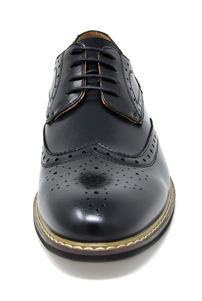 Bruno-Marc-Mens-Classic-Formal-Modern-Wingtip-Lace-Up-Dress-Oxfords-Shoes-6-5-15 thumbnail 11