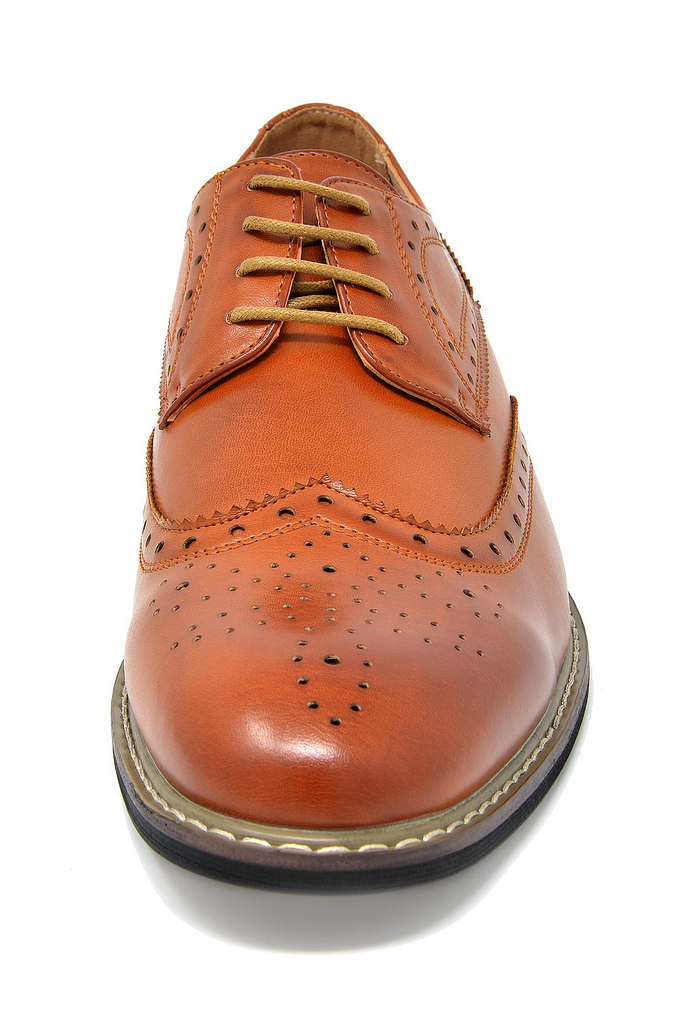 Bruno-Marc-Mens-Classic-Formal-Modern-Wingtip-Lace-Up-Dress-Oxfords-Shoes-6-5-15 thumbnail 18