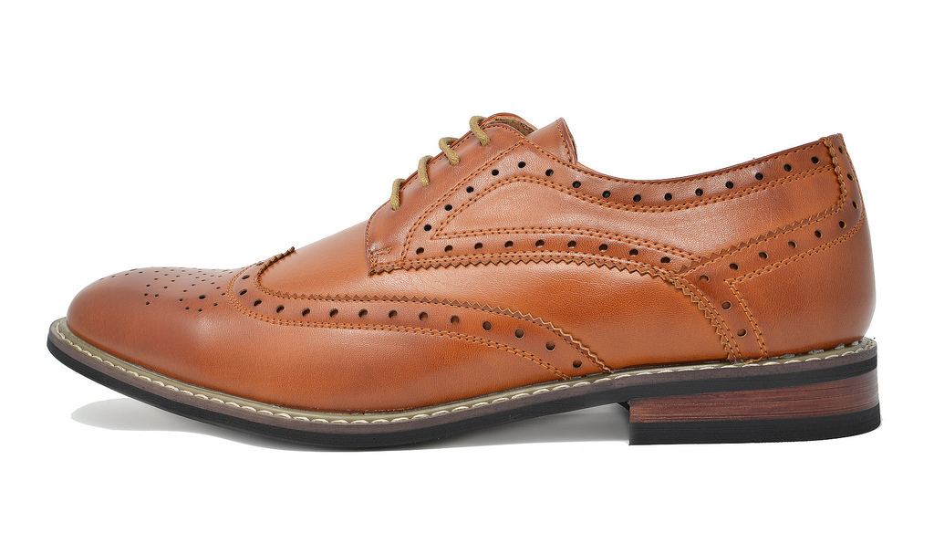 Bruno-Marc-Mens-Classic-Formal-Modern-Wingtip-Lace-Up-Dress-Oxfords-Shoes-6-5-15 thumbnail 15