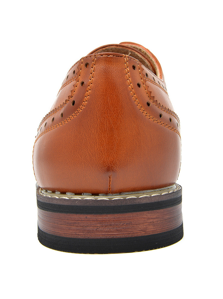 Bruno-Marc-Mens-Classic-Formal-Modern-Wingtip-Lace-Up-Dress-Oxfords-Shoes-6-5-15 thumbnail 19