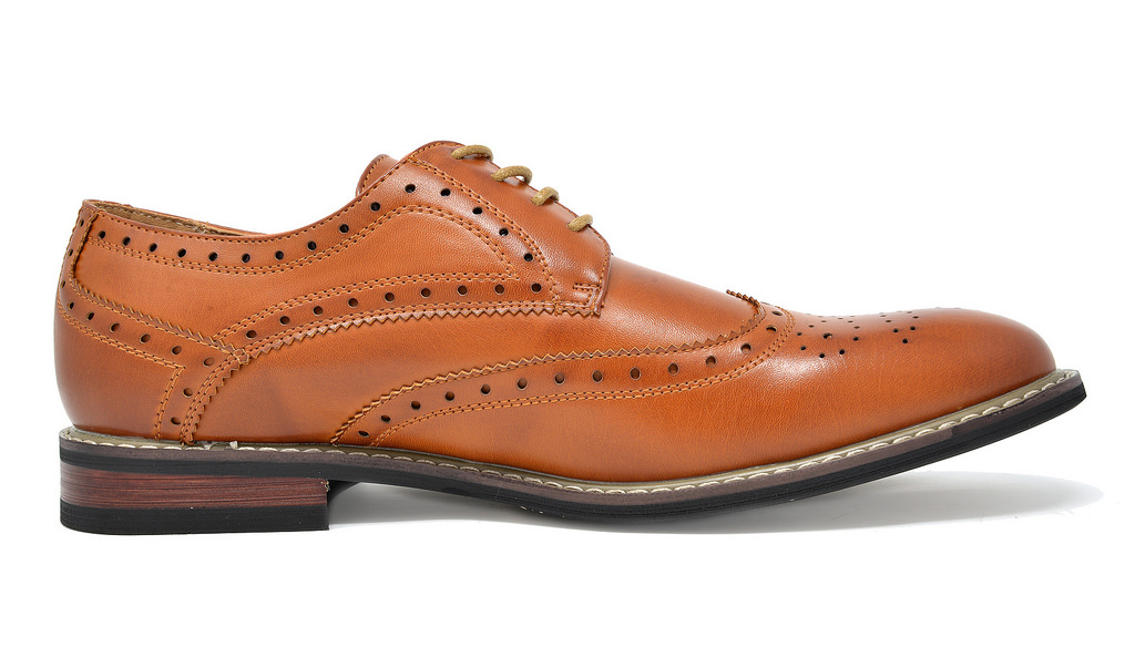 Bruno-Marc-Mens-Classic-Formal-Modern-Wingtip-Lace-Up-Dress-Oxfords-Shoes-6-5-15 thumbnail 16