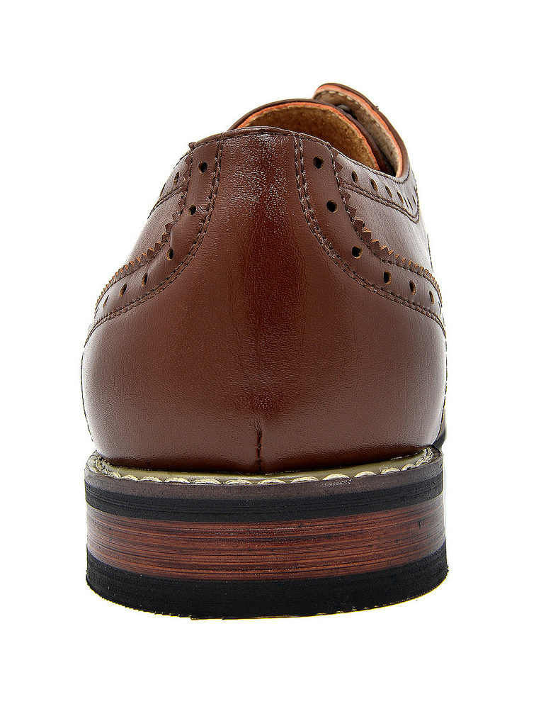 Bruno-Marc-Mens-Classic-Formal-Modern-Wingtip-Lace-Up-Dress-Oxfords-Shoes-6-5-15 thumbnail 26