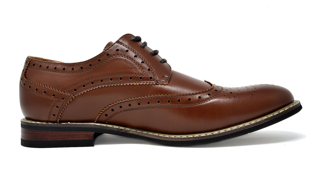 Bruno-Marc-Mens-Classic-Formal-Modern-Wingtip-Lace-Up-Dress-Oxfords-Shoes-6-5-15 thumbnail 23