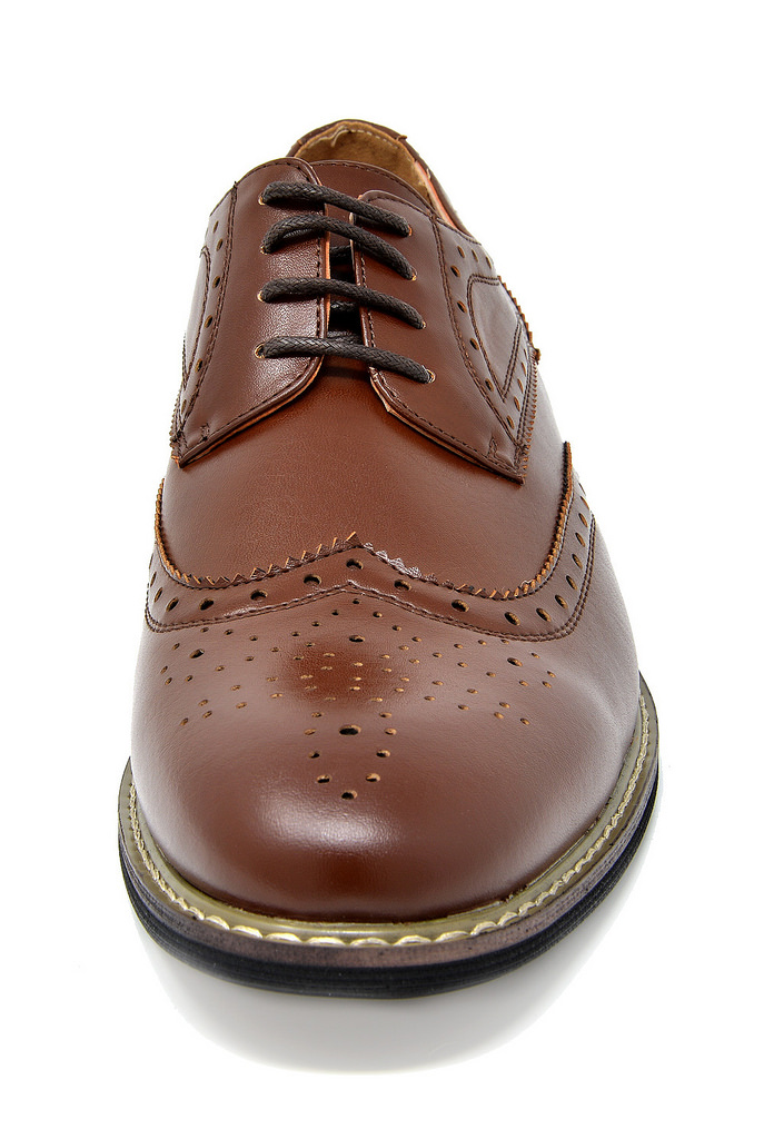 Bruno-Marc-Mens-Classic-Formal-Modern-Wingtip-Lace-Up-Dress-Oxfords-Shoes-6-5-15 thumbnail 25