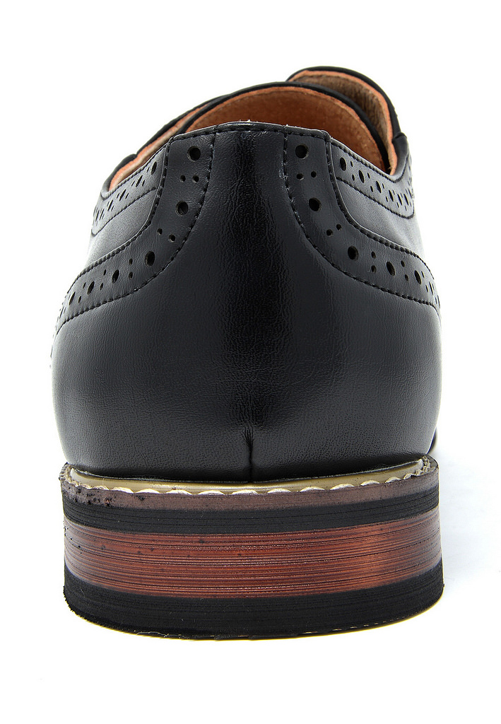 Bruno-Marc-Mens-Classic-Formal-Modern-Wingtip-Lace-Up-Dress-Oxfords-Shoes-6-5-15 thumbnail 33