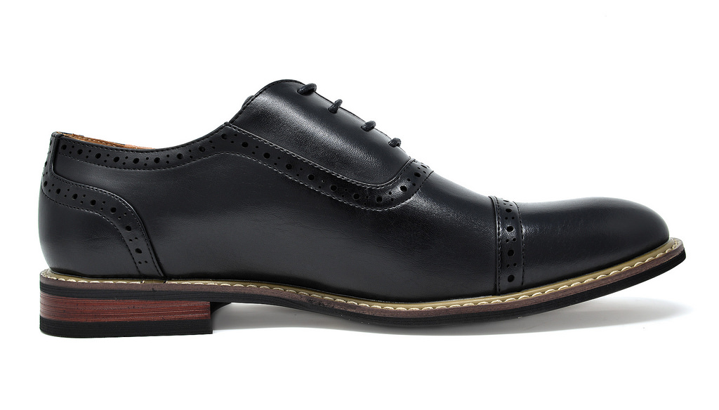 Bruno-Marc-Mens-Classic-Formal-Modern-Wingtip-Lace-Up-Dress-Oxfords-Shoes-6-5-15 thumbnail 30