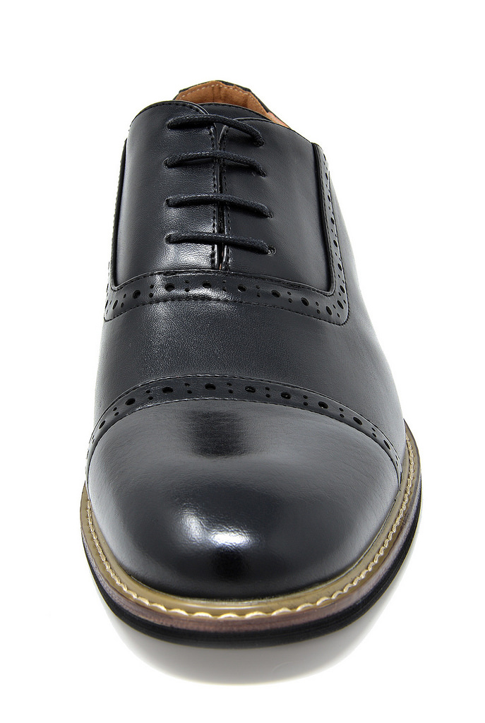 Bruno-Marc-Mens-Classic-Formal-Modern-Wingtip-Lace-Up-Dress-Oxfords-Shoes-6-5-15 thumbnail 32