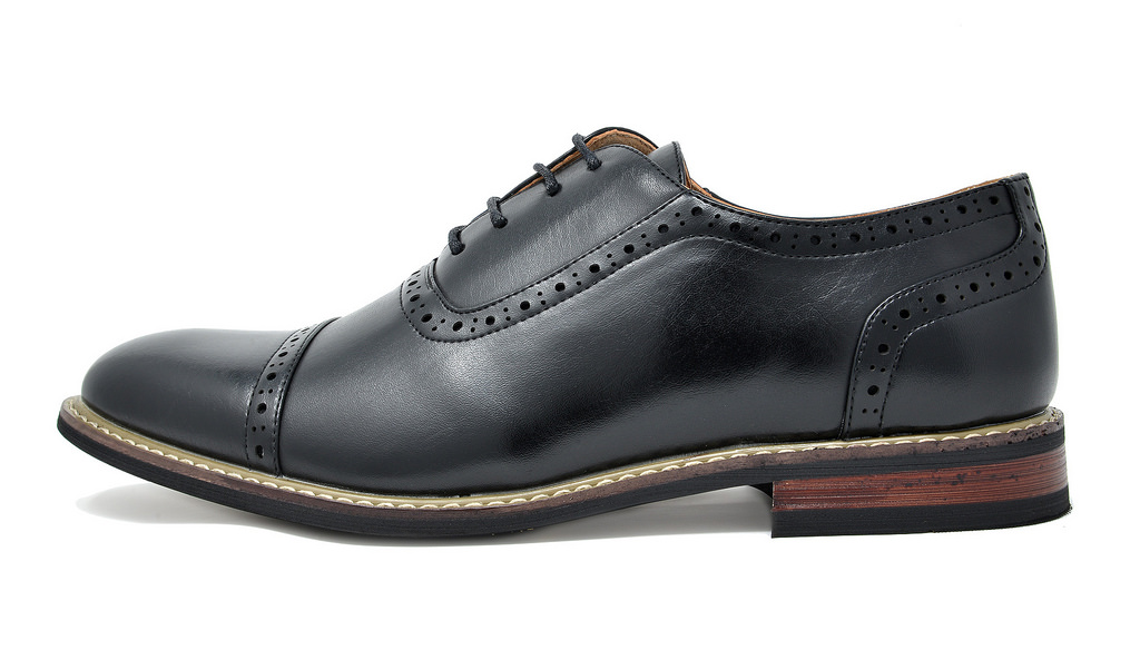 Bruno-Marc-Mens-Classic-Formal-Modern-Wingtip-Lace-Up-Dress-Oxfords-Shoes-6-5-15 thumbnail 29